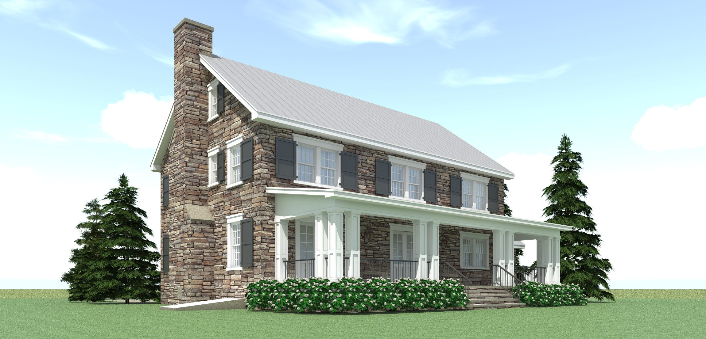 Ansted House Plan