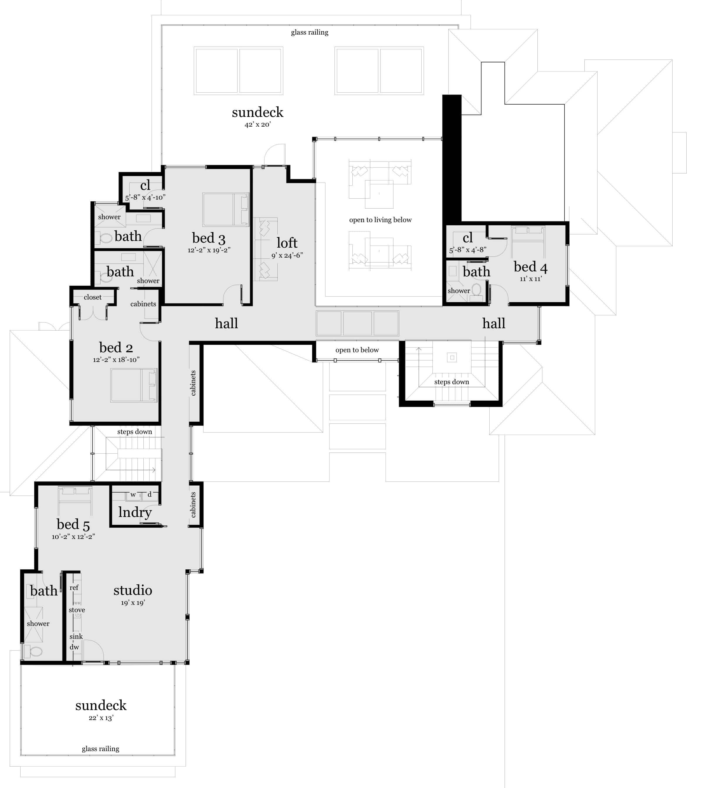 Floor 2 - Sarsaparilla House Plan