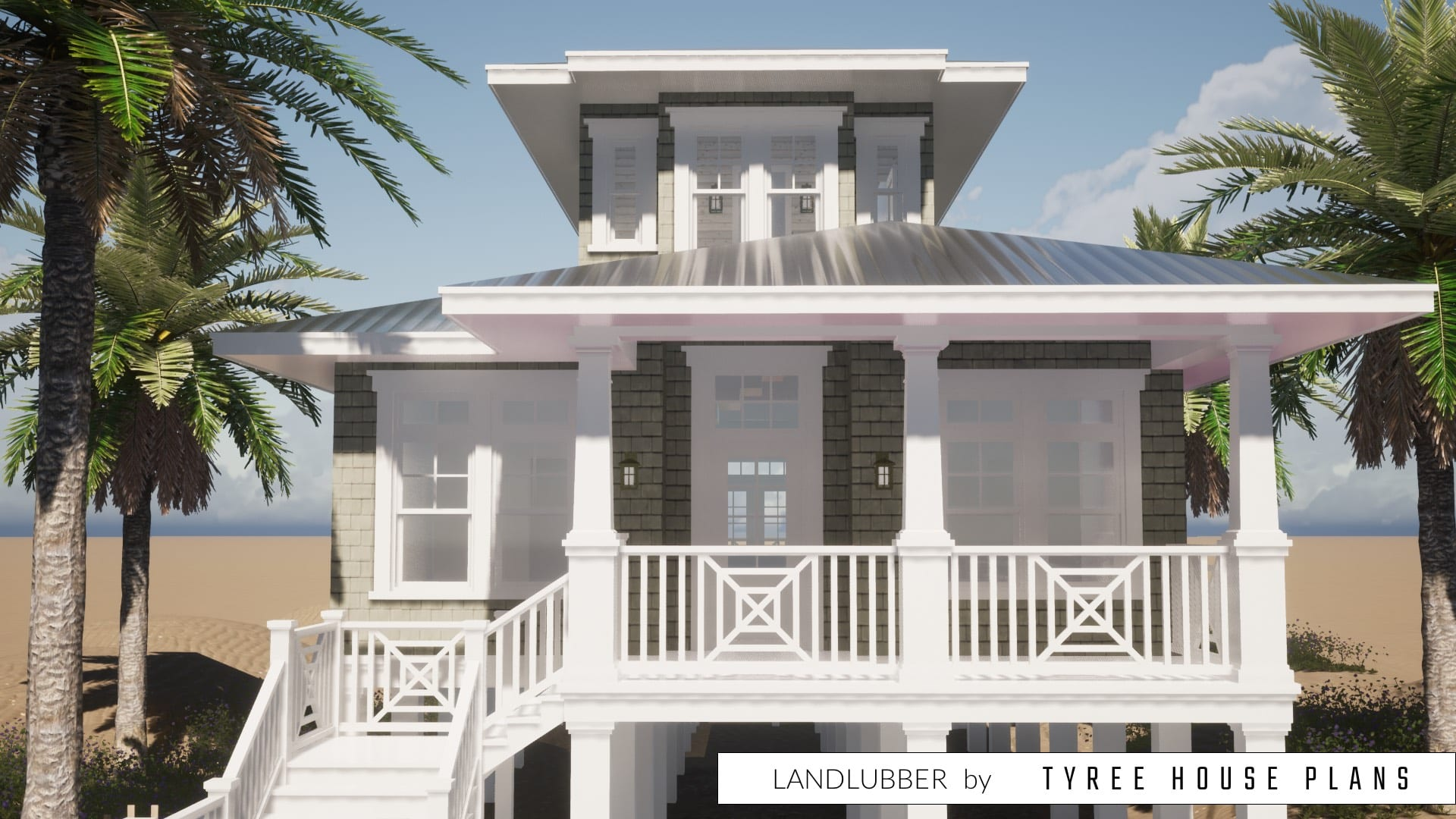 Landlubber House Plan by Tyree House Plans