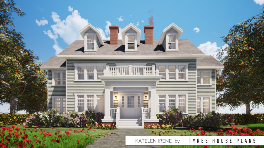 Katelen Irene House Plan by Tyree House Plans