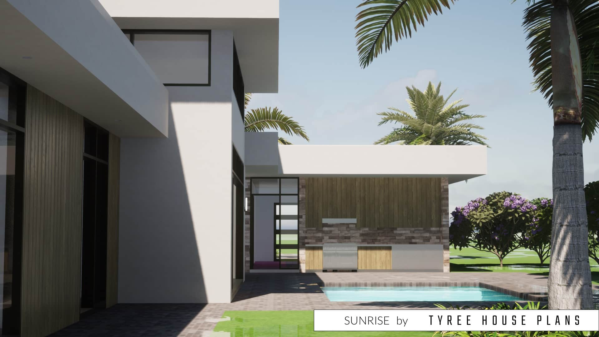 Sunrise House Plan by Tyree House Plans