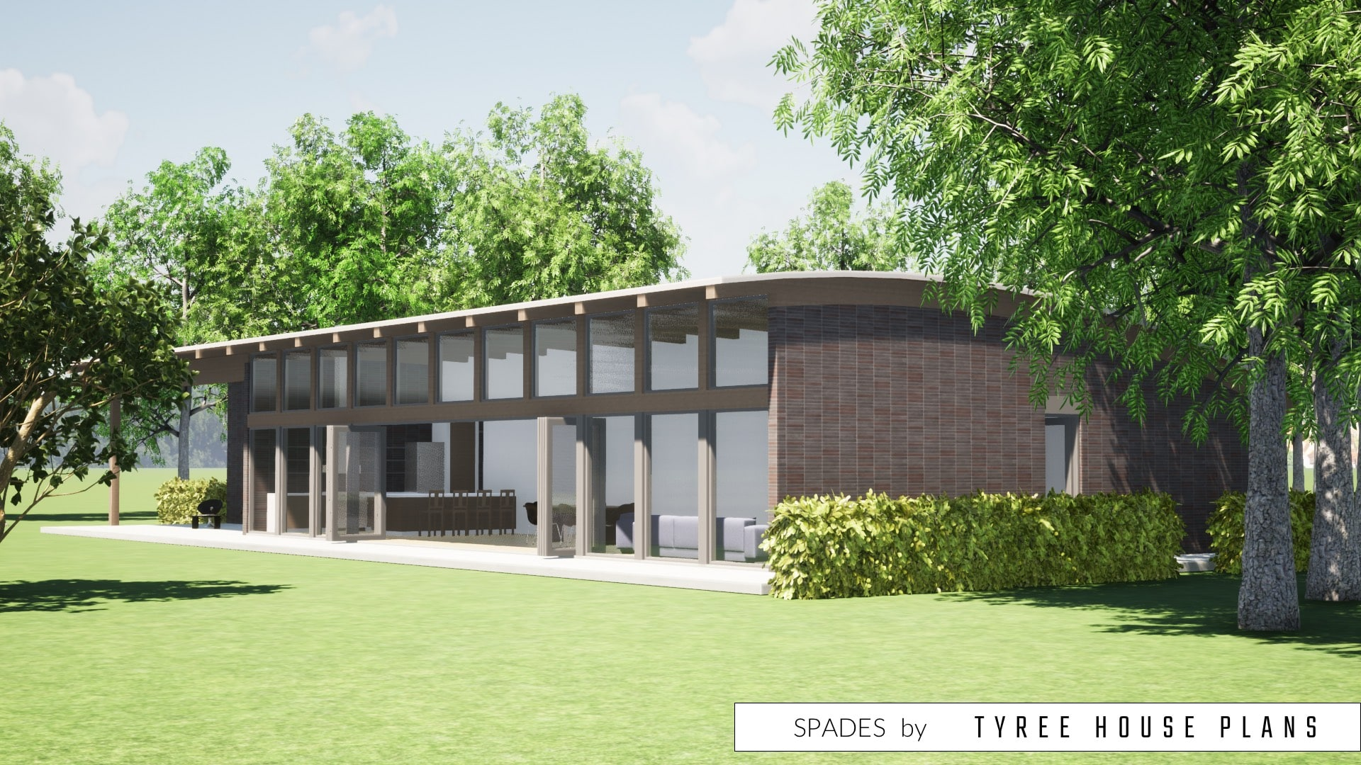 Spades House Plan by Tyree House Plans
