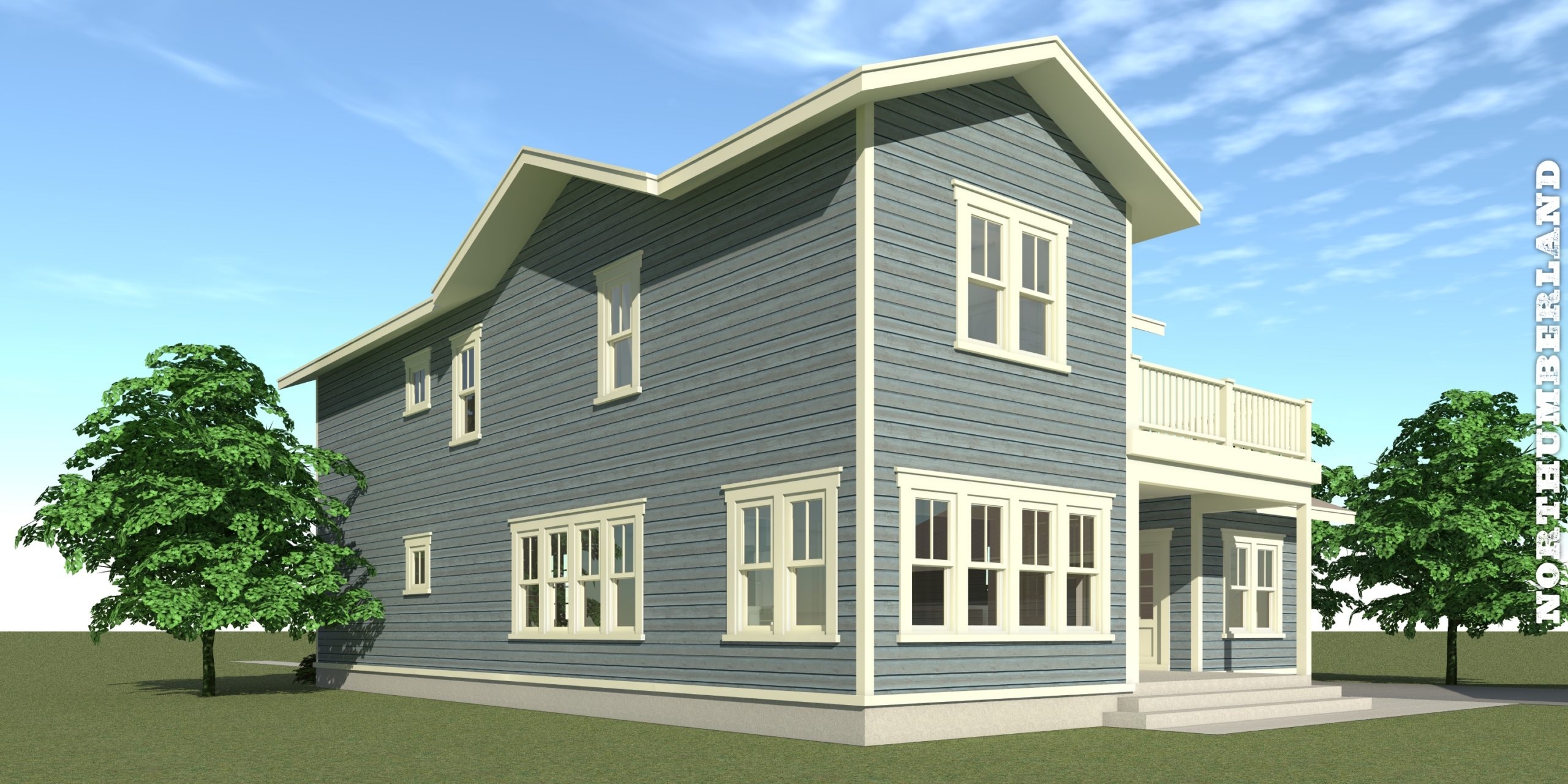 Northumberland House Plan - Tyree House Plans