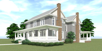 Bluestem House Plan - Right
