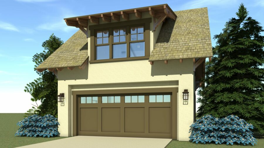 Bungalow Garage Plan - Tyree House Plans