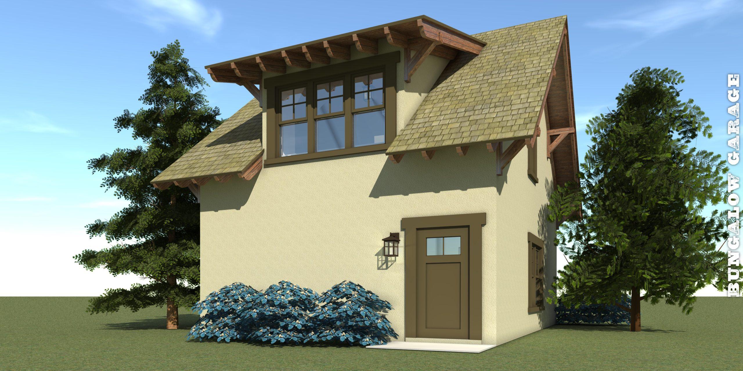 Bungalow Garage Plan - Tyree House Plans