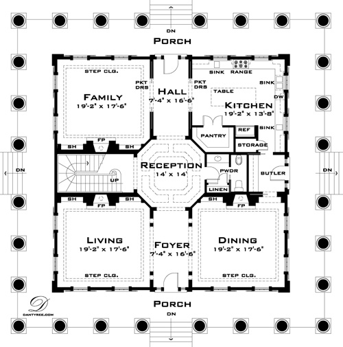 Twelve Oaks House Plan by Tyree House Plans on home for families, house plans cheap, interior design for families, house plans community, exercise for families, art for families, services for families, house plans programs, house plans art, small houses for families, housing for families,