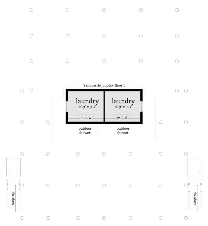 Sand Castle Duplex - Floor 1