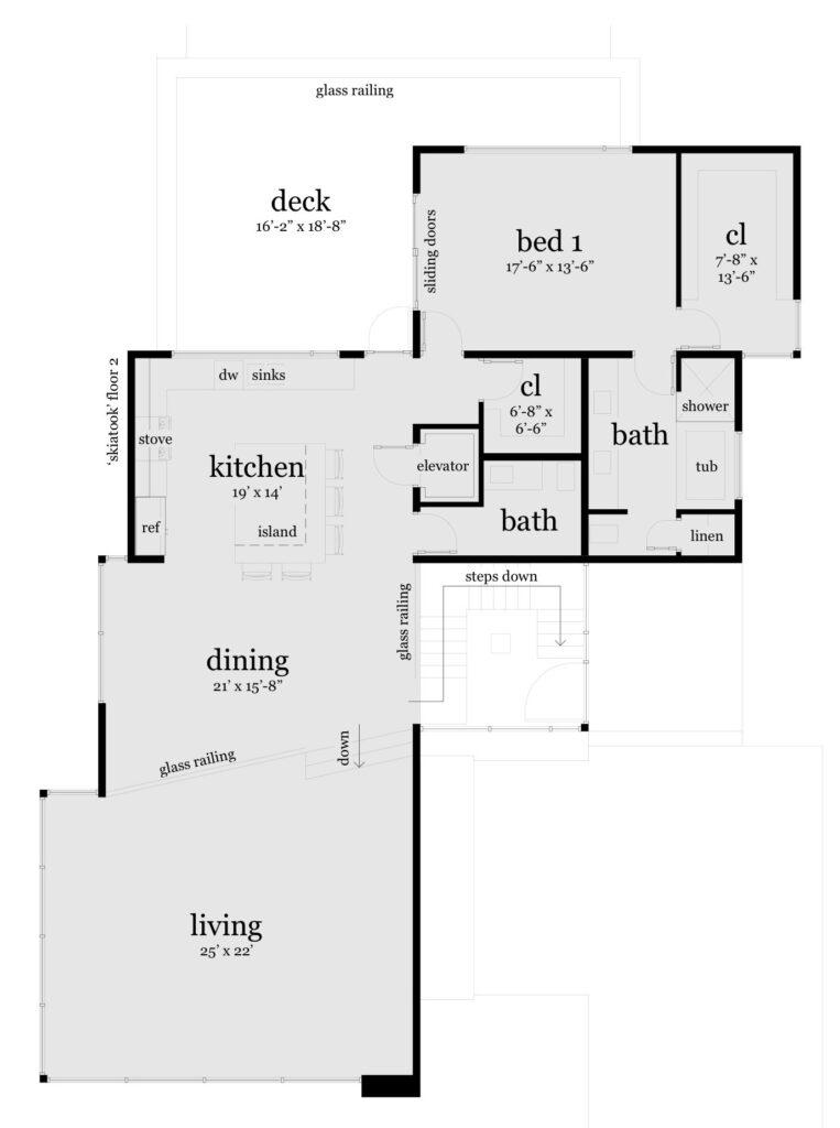 Floor 2 - Skiatook House Plan - Tyree House Plans