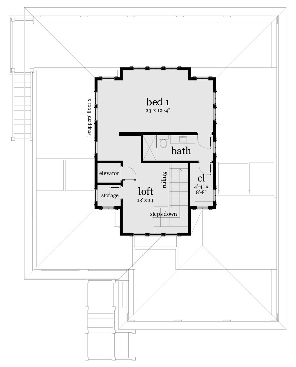 Scuppers House Plan Tyree House Plans