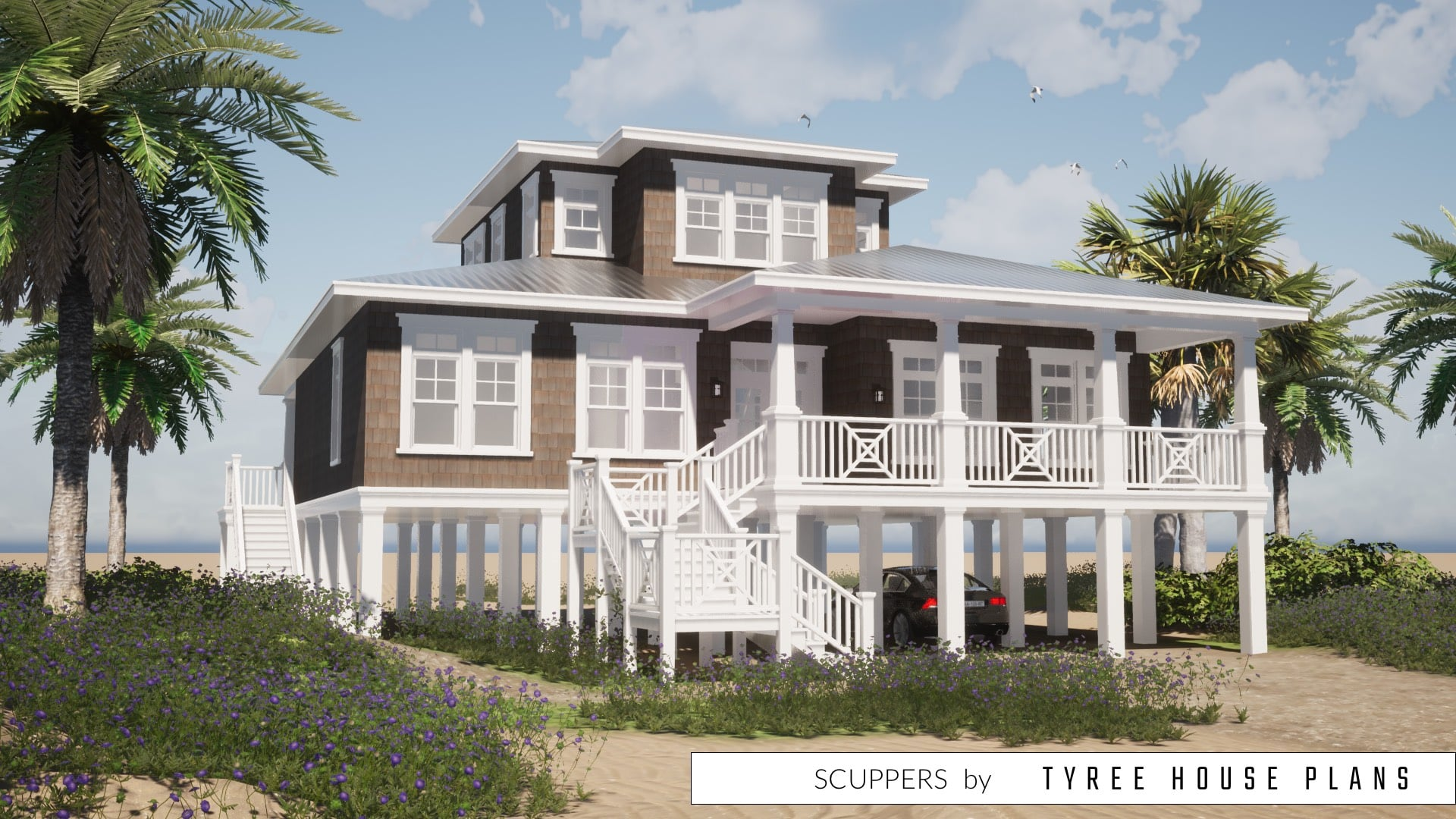 Scuppers House Plan by Tyree House Plans