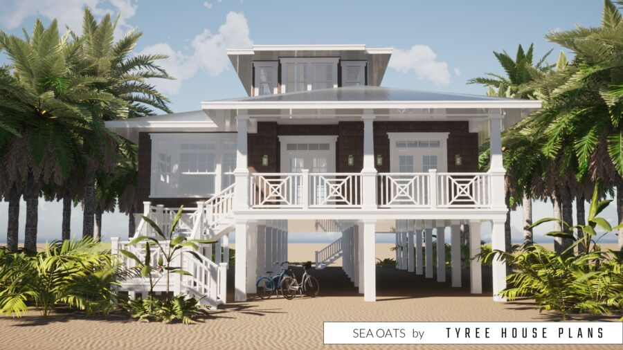 Sea Oats House Plan by Tyree House Plans