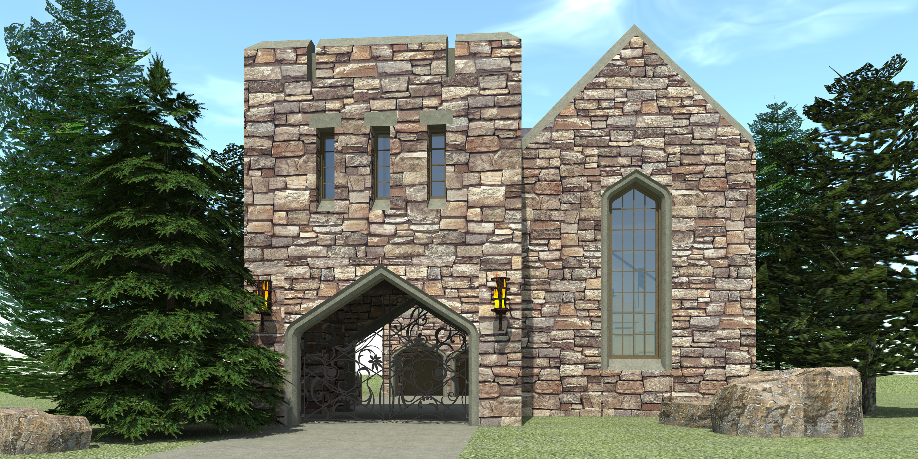 Jilyn Castle Plan Images
