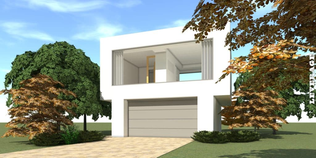 Leverage House Plan - Tyree House Plans