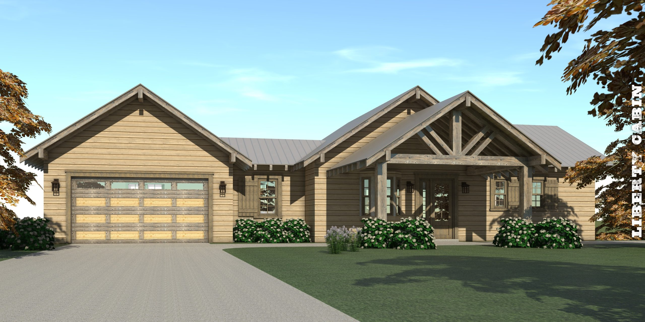 Liberty Cabin House Plan by Tyree House Plans