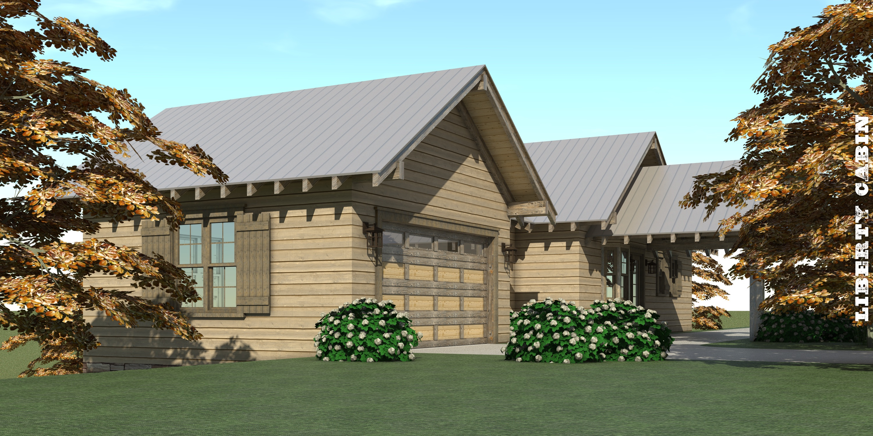 Liberty Cabin House Plan - Tyree House Plans