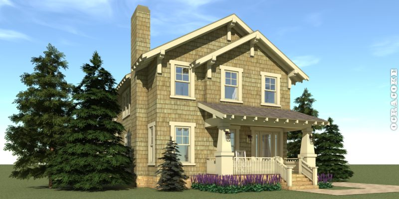 Ocracoke House Plan - Tyree House Plans