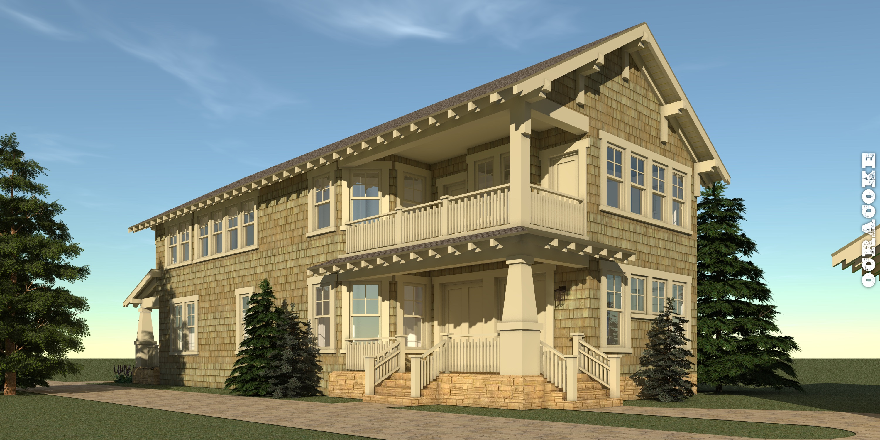 Ocracoke House Plan by Tyree House Plans