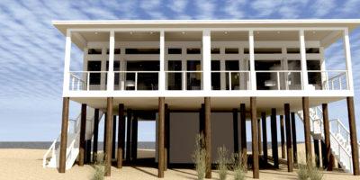 Sand Castle Duplex - Perspective