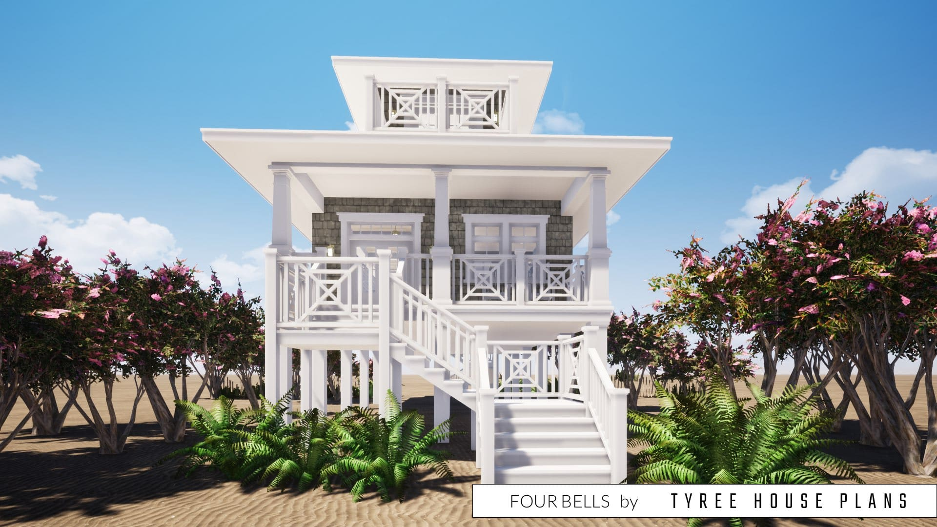 Four Bells House Plan by Tyree House Plans