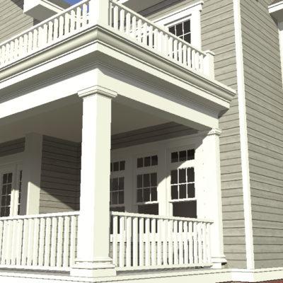 Katelen Irene - Rear Porch