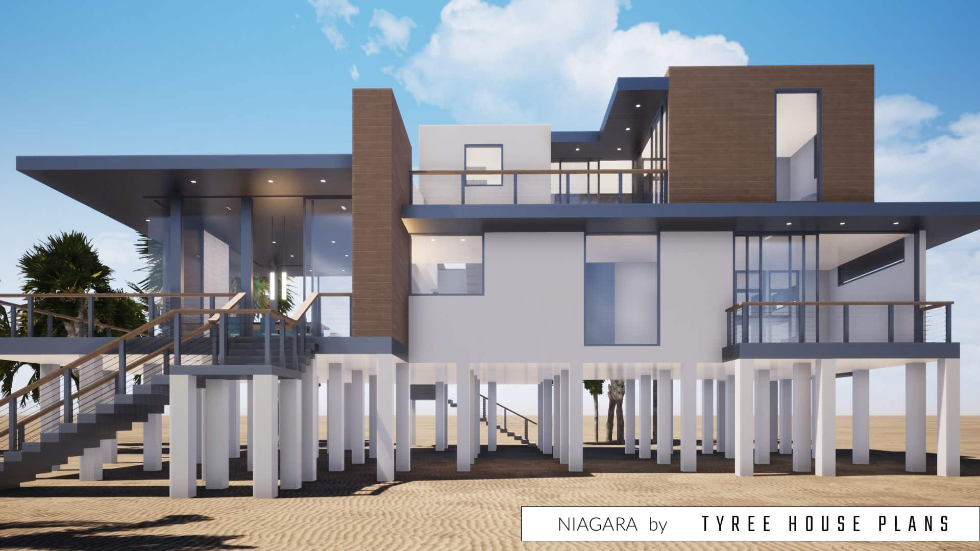 Niagara House Plan by Tyree House Plans