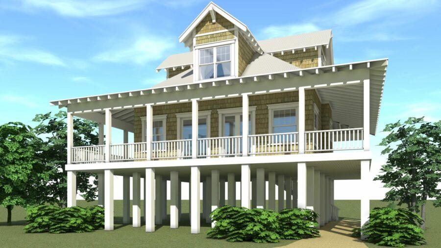 Sanibel House Plan - Tyree House Plans