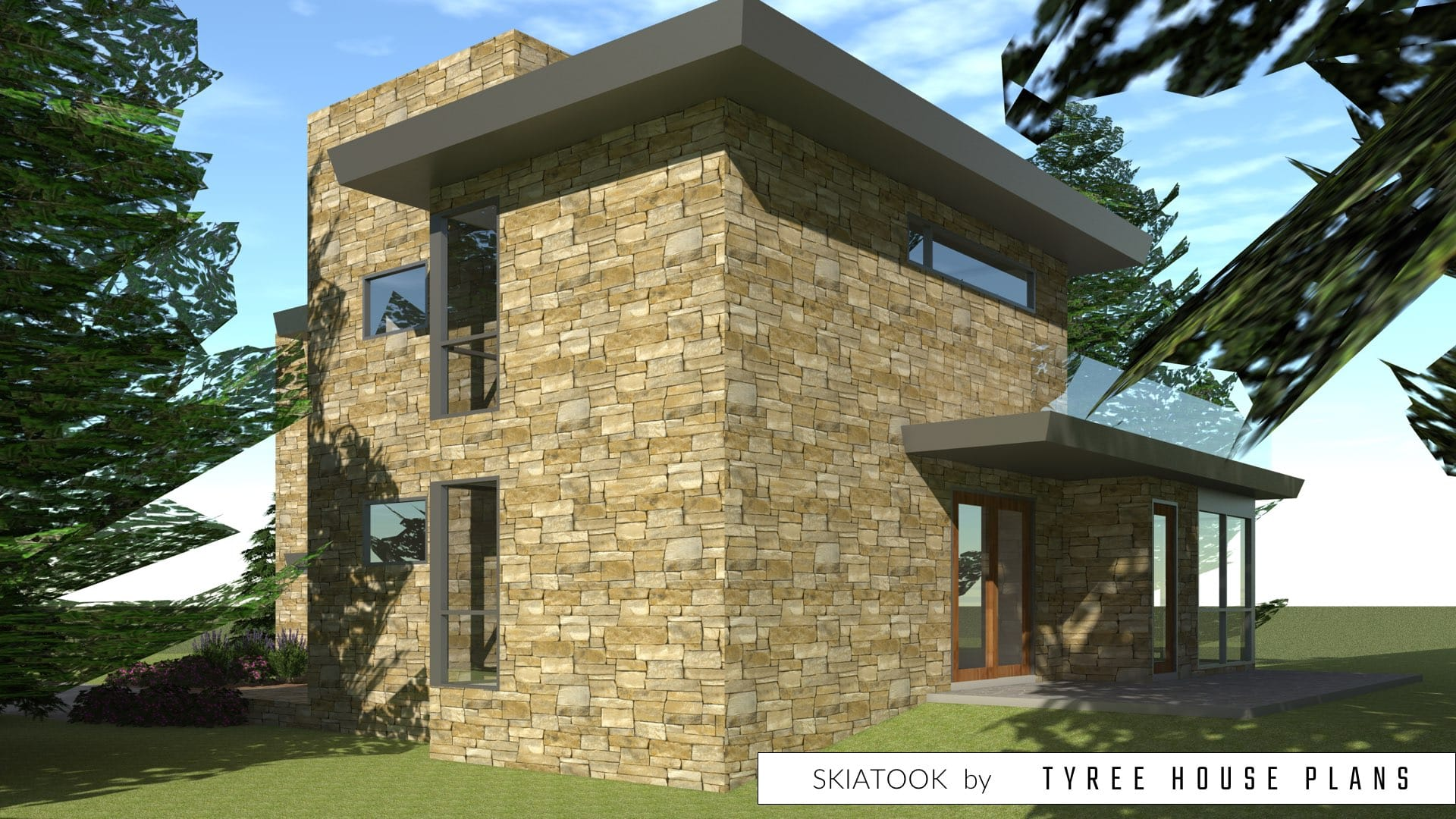 Skiatook House Plan by Tyree House Plans