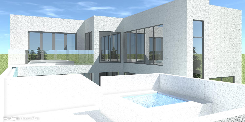 Verdigris House Plan - Sundeck