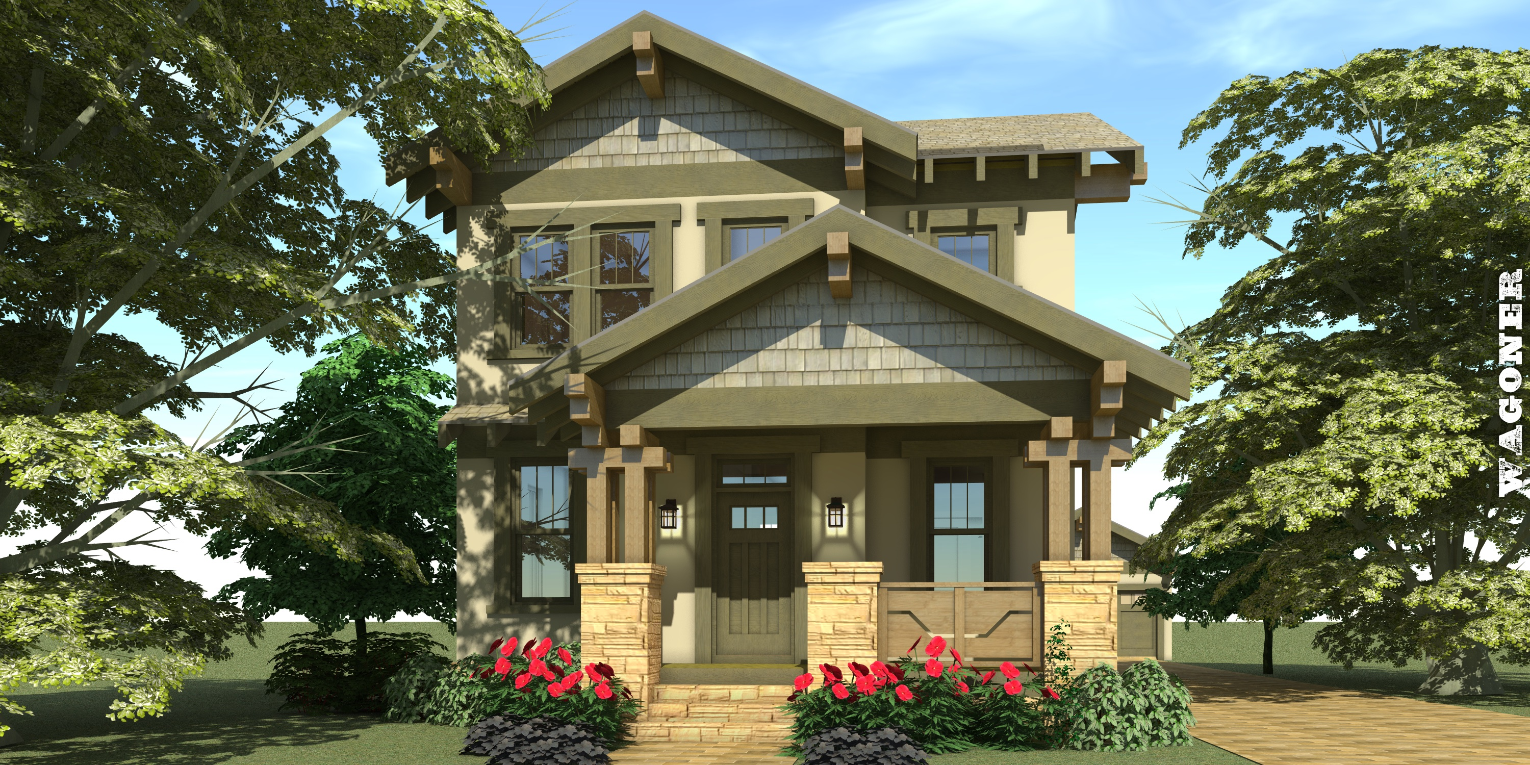 Wagoner House Plan by Tyree House Plans