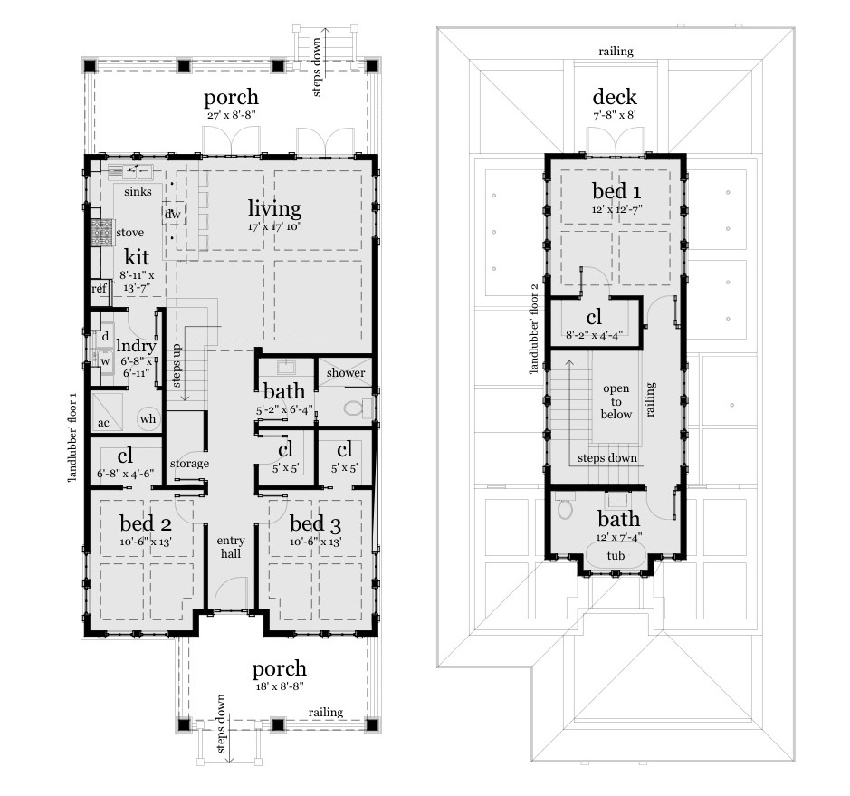 Shoreline - Floor Plans