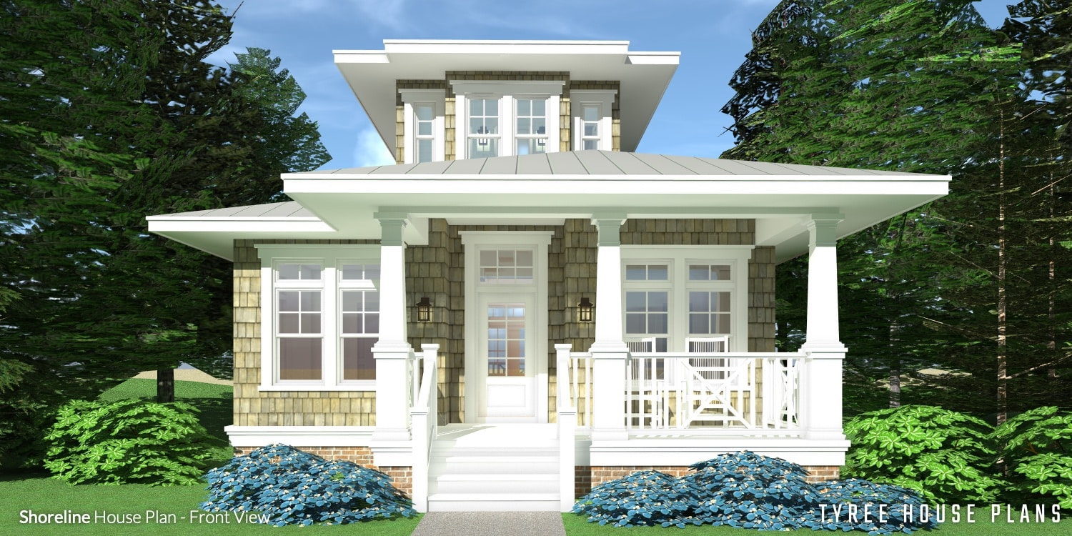 Shoreline House Plan by Tyree House Plans