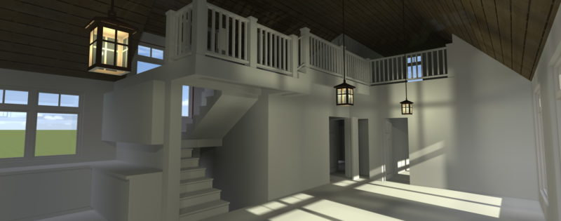 Wasilla House Plans - Interior