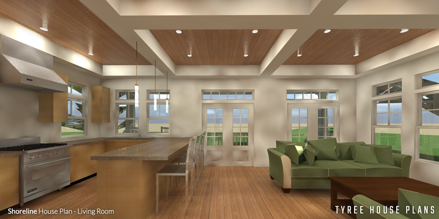 Shoreline by Tyree House Plans