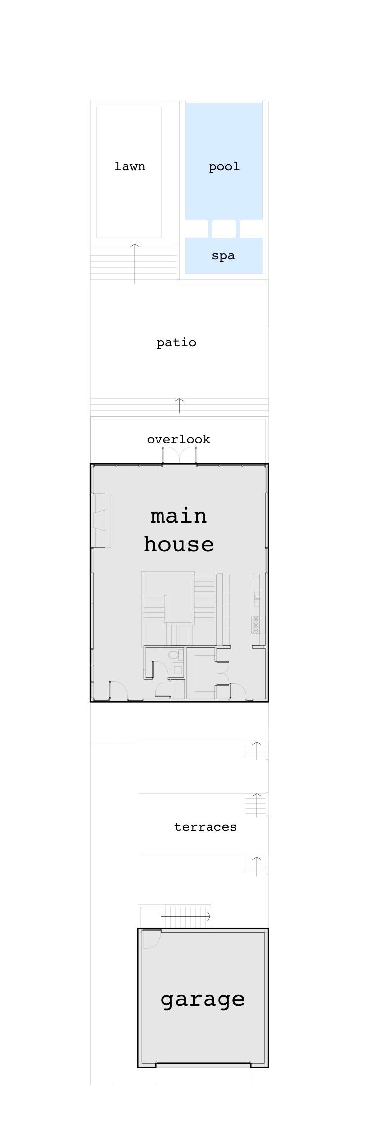 Ocoee House Plan - Master Plan