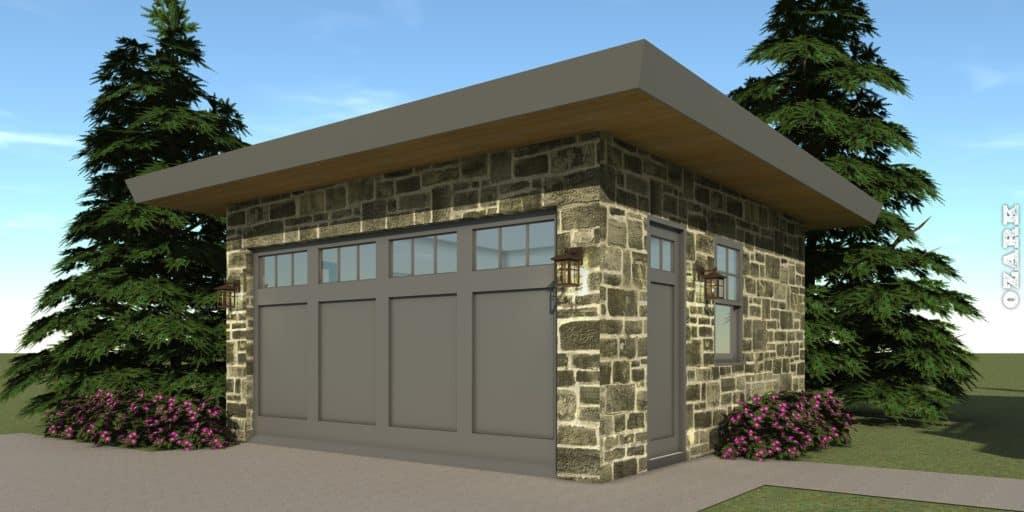 Garage - Ozark House Plan - Tyree House Plans