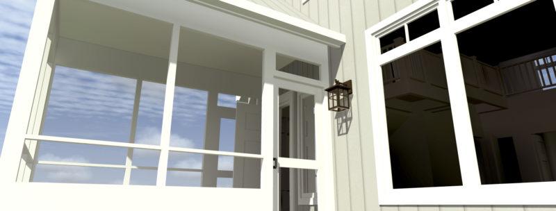Wasilla - Porch