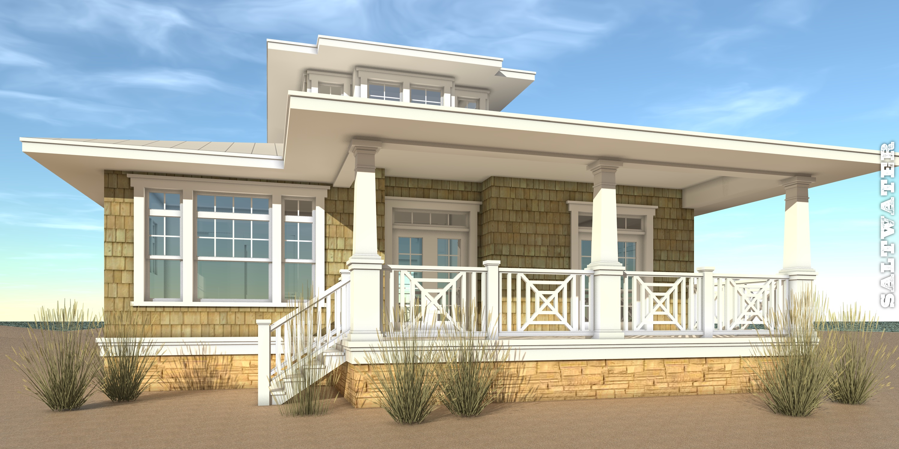 Saltwater House Plan by Tyree House Plans