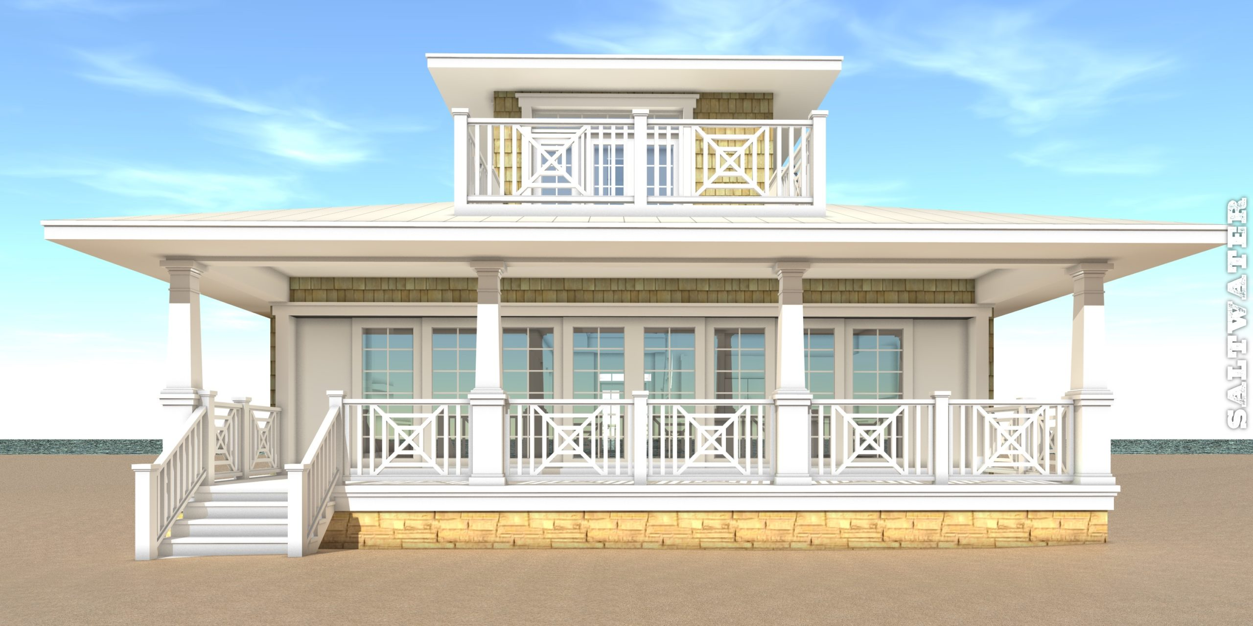 Saltwater House Plan - Tyree House Plans