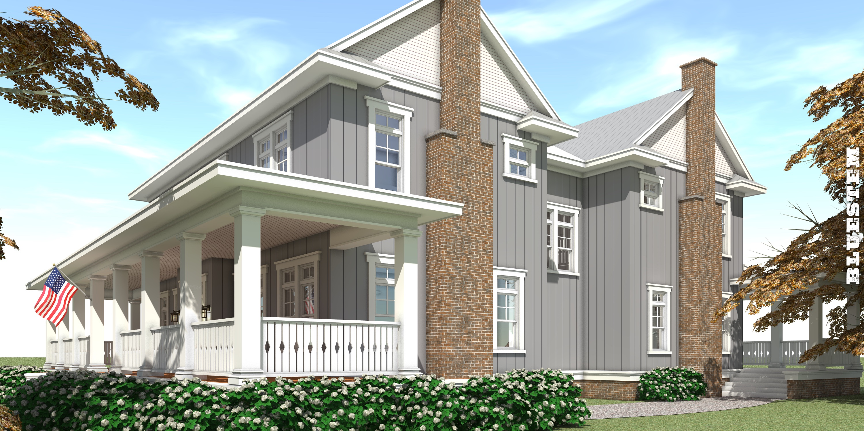 Bluestem House Plan - Tyree House Plans
