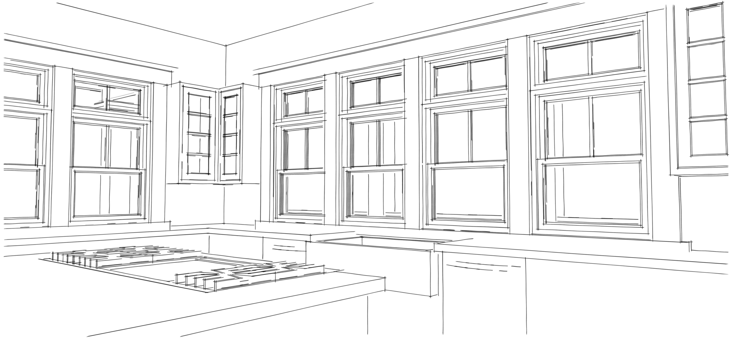 Bluestem House Plans - Kitchen