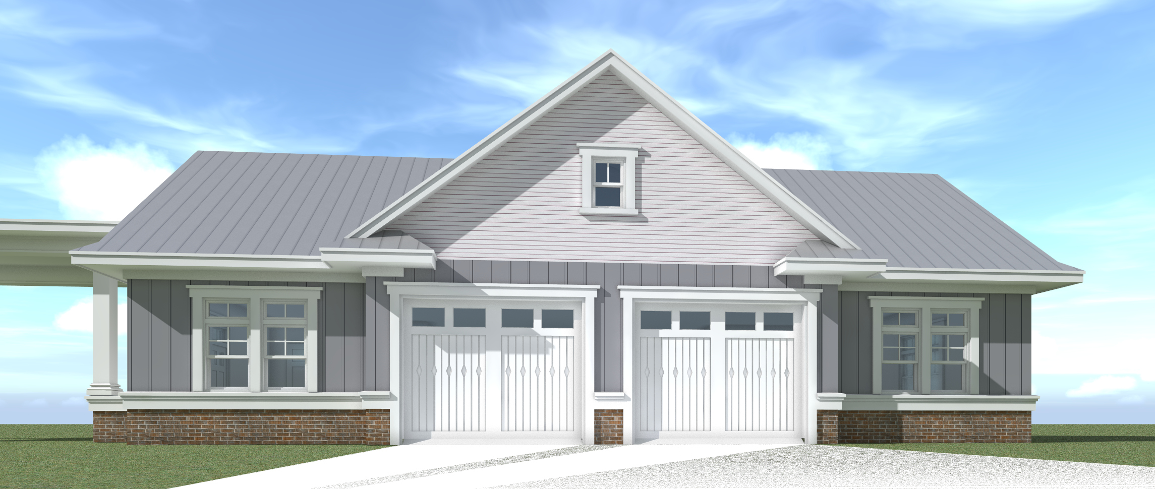 Farm Garage 01 Plan By Tyree House Plans