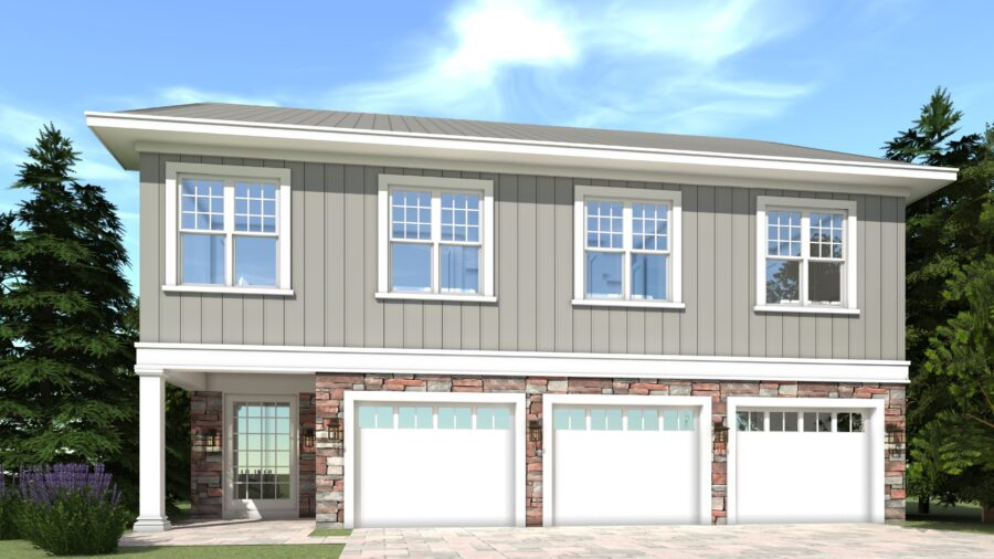Hayshaker House Plan by Tyree House Plans