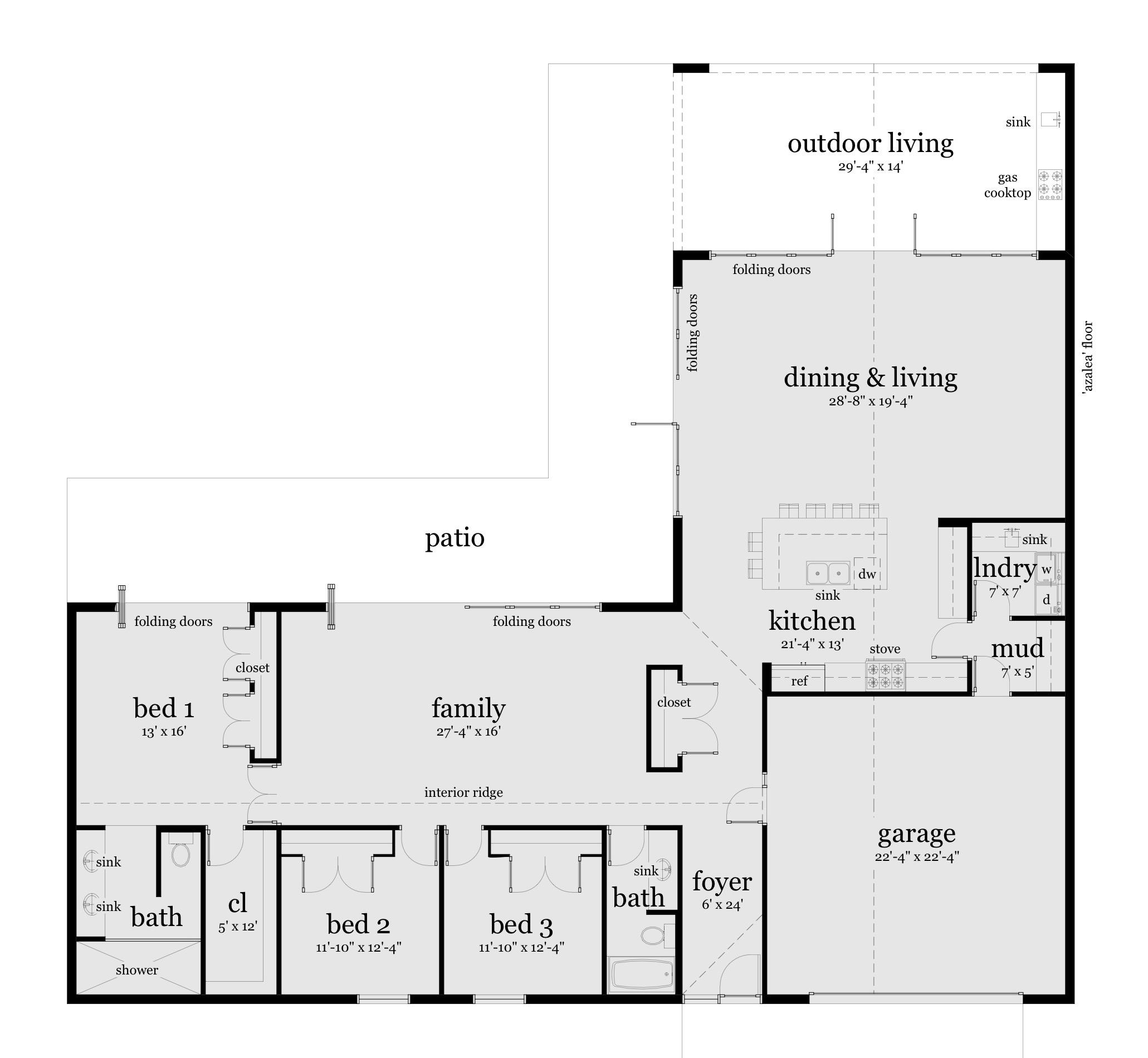 Azalea house plans
