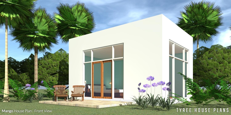 Front View - Mango House Plan