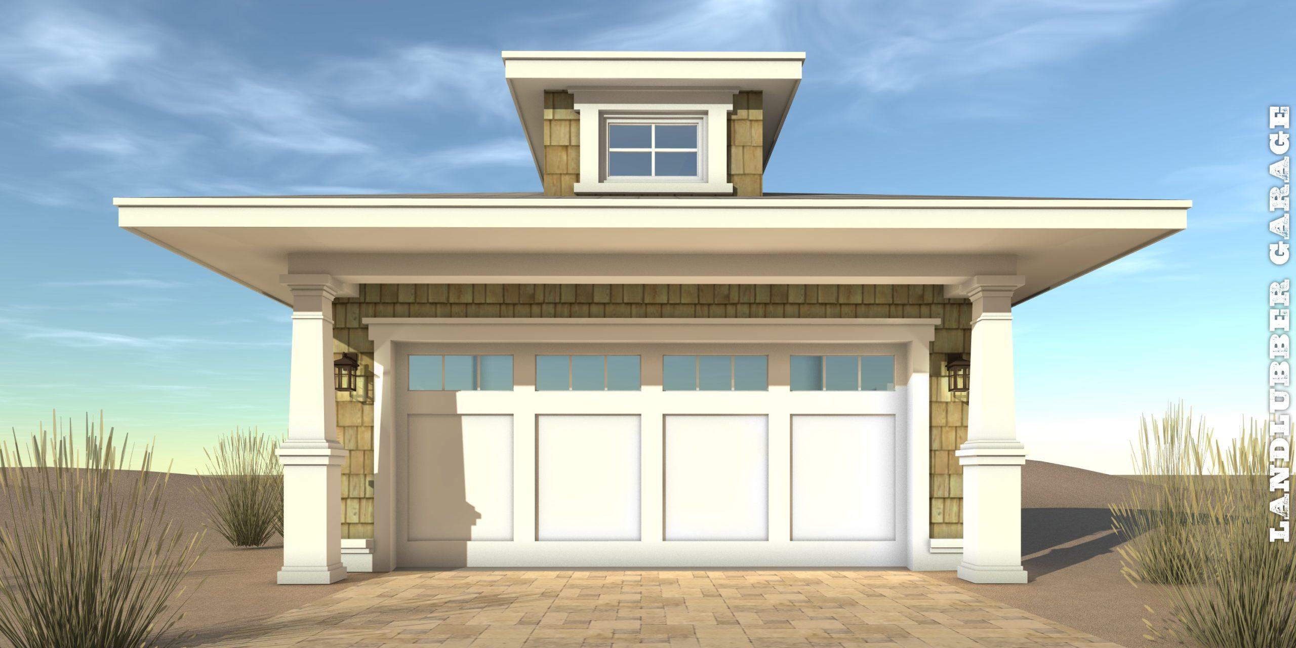 Landlubber Garage Plan - Tyree House Plans