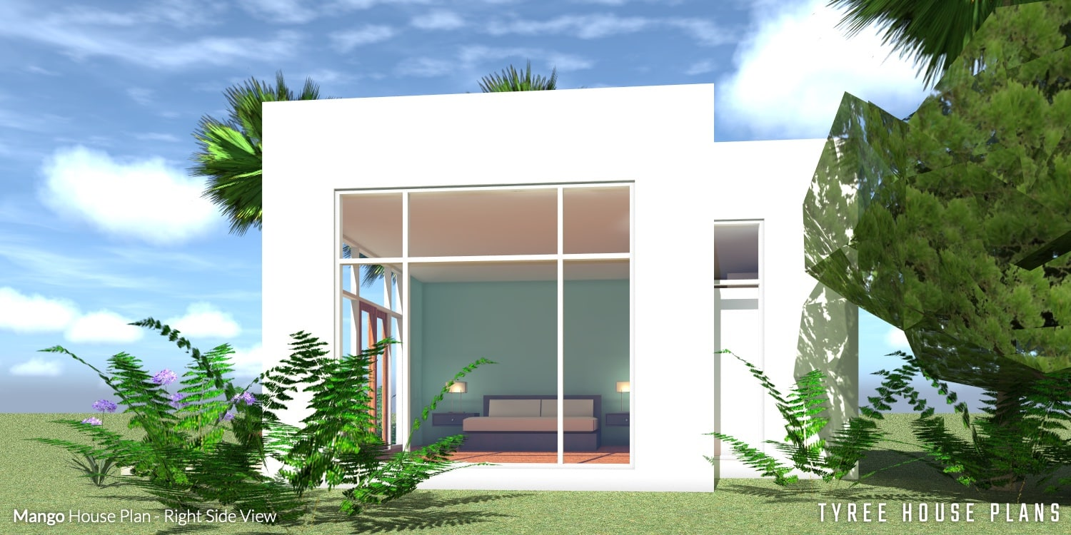 Right View - Mango House Plan