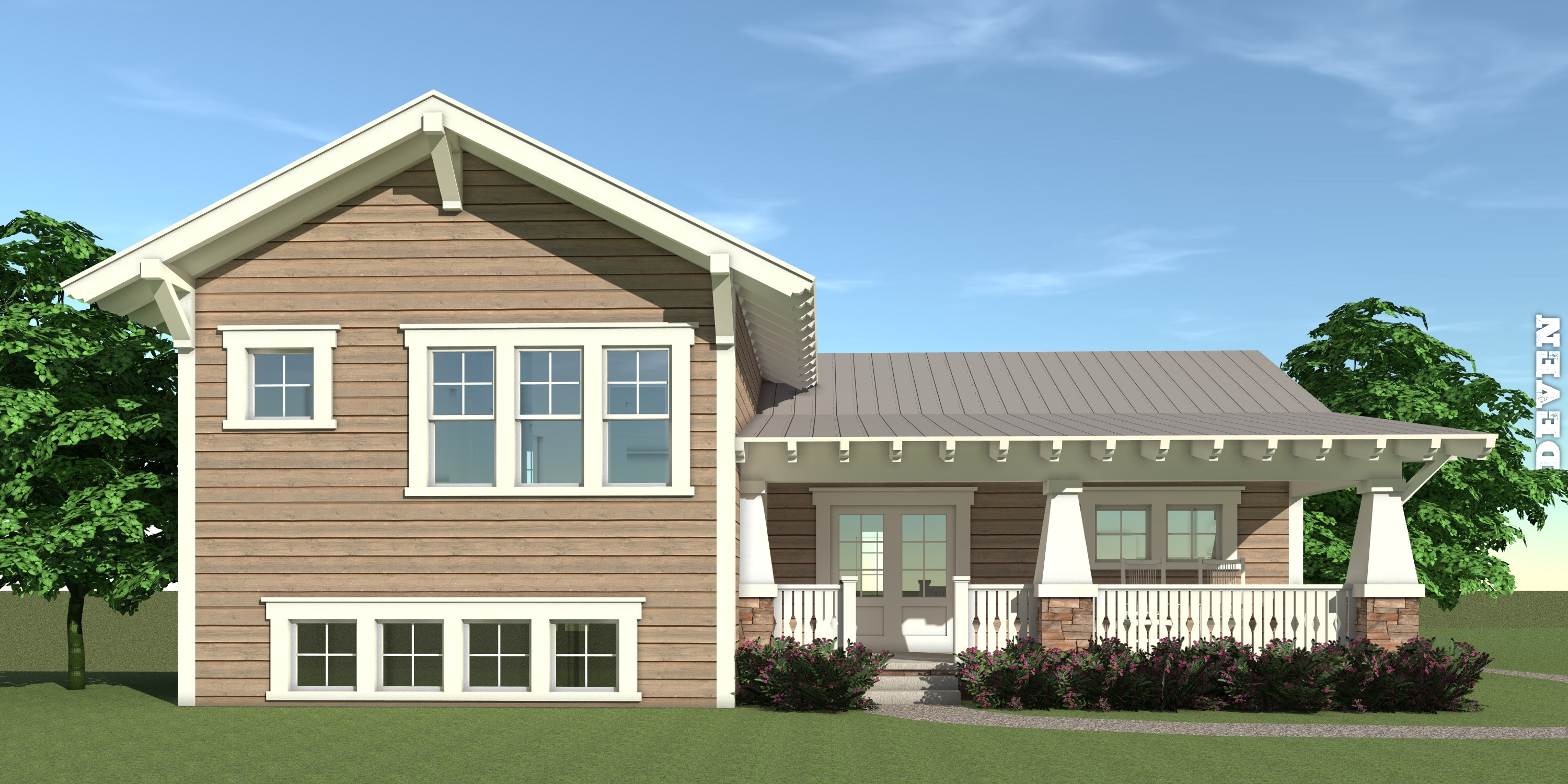 Deven House Plan by Tyree House Plans