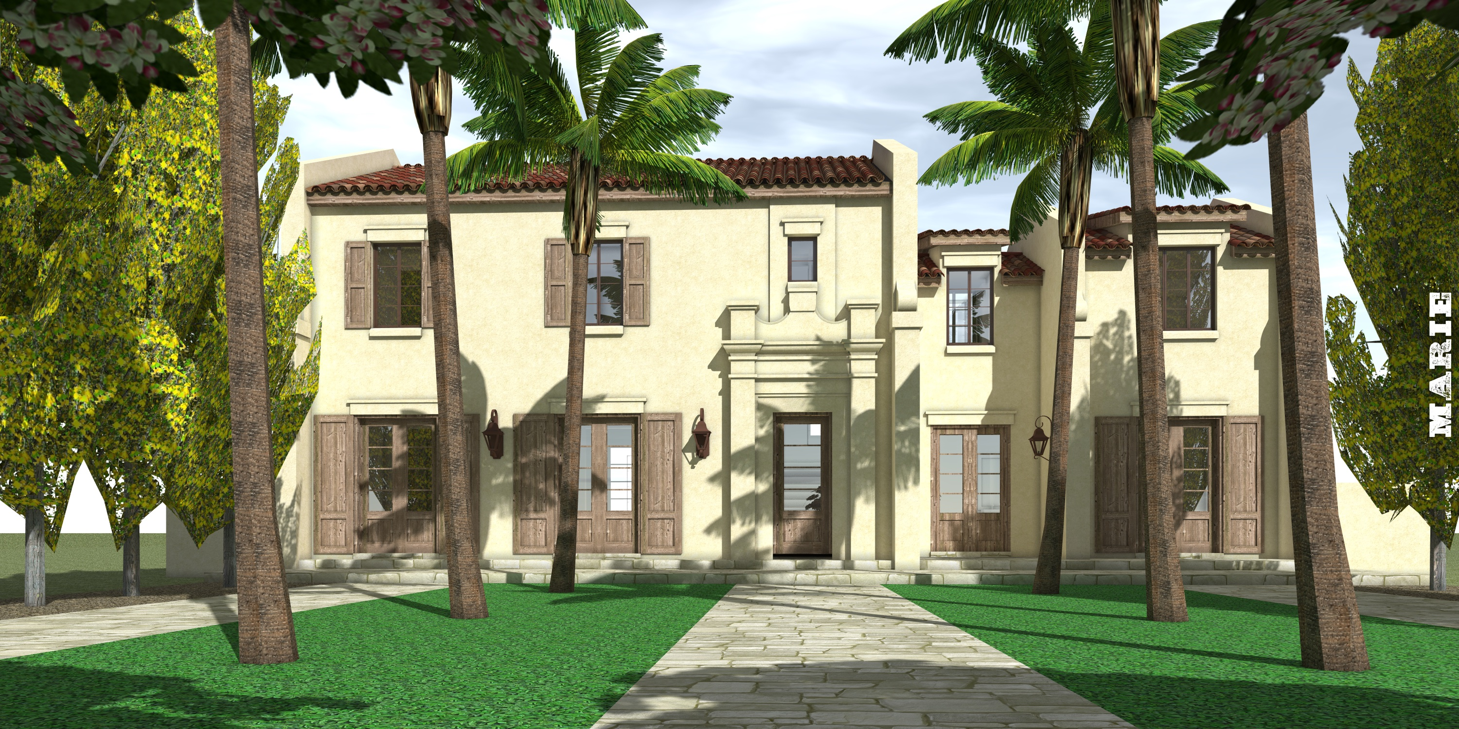 Marie House Plan by Tyree House Plans