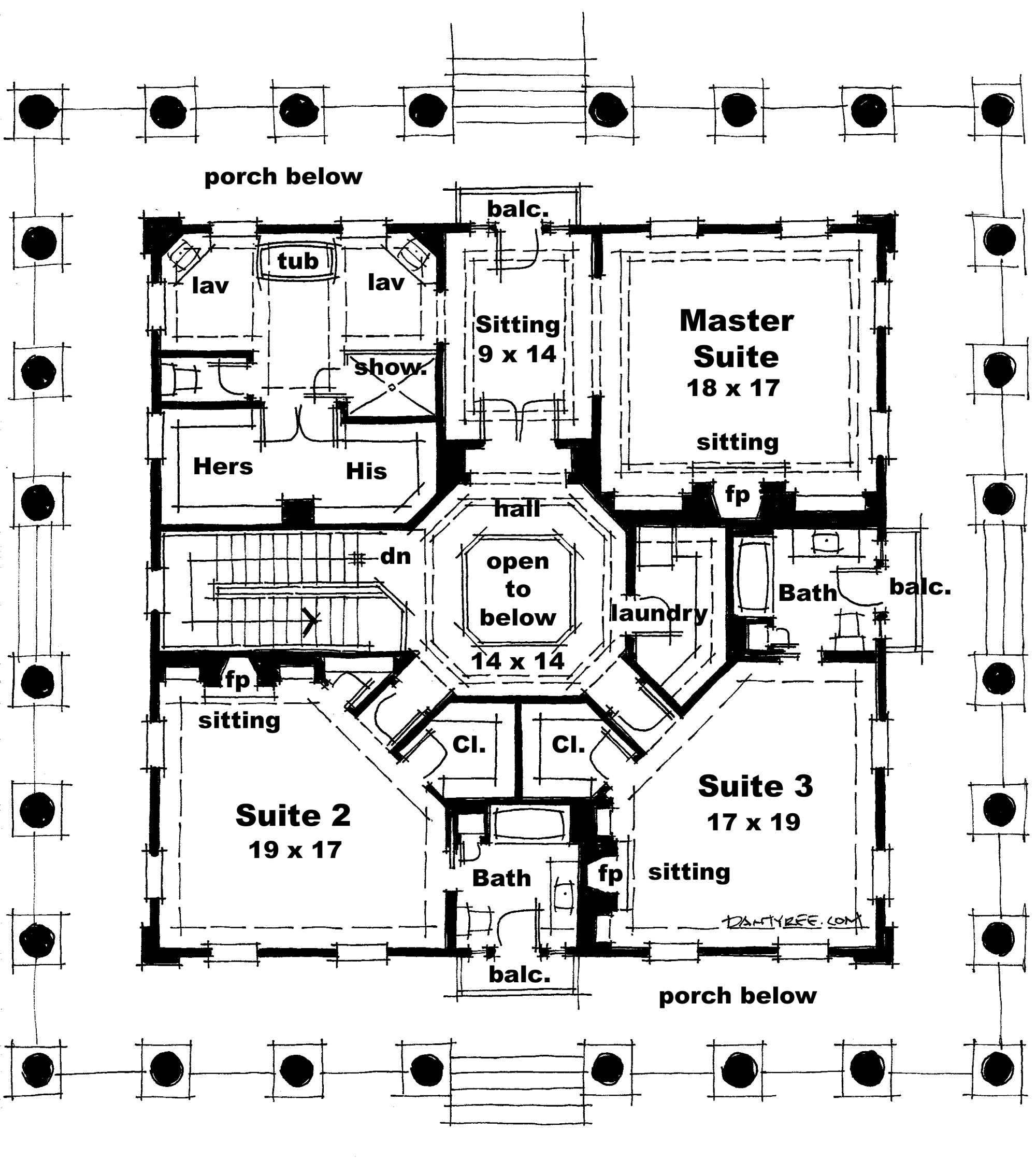 Edward Stephen House Plan